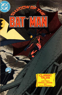 Cover Thumbnail for Shadow of the Batman (DC, 1985 series) #5