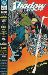 Cover Thumbnail for The Shadow Strikes! Annual (DC, 1989 series) #1
