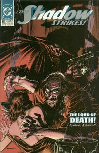 Cover Thumbnail for The Shadow Strikes! (DC, 1989 series) #2