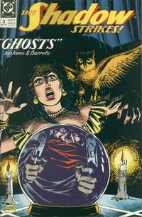 Cover Thumbnail for The Shadow Strikes! (DC, 1989 series) #3
