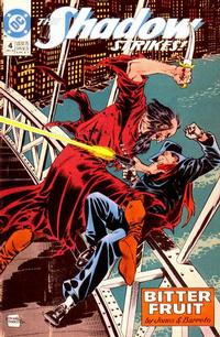 Cover Thumbnail for The Shadow Strikes! (DC, 1989 series) #4