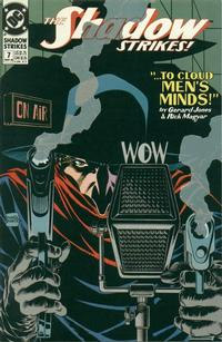 Cover Thumbnail for The Shadow Strikes! (DC, 1989 series) #7