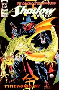 Cover Thumbnail for The Shadow Strikes! (DC, 1989 series) #8