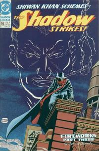 Cover Thumbnail for The Shadow Strikes! (DC, 1989 series) #10