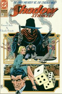 Cover Thumbnail for The Shadow Strikes! (DC, 1989 series) #12