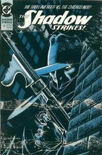 Cover Thumbnail for The Shadow Strikes! (DC, 1989 series) #13
