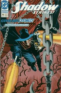 Cover Thumbnail for The Shadow Strikes! (DC, 1989 series) #15
