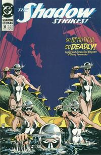 Cover Thumbnail for The Shadow Strikes! (DC, 1989 series) #16