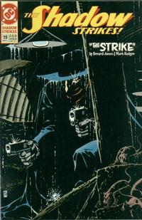 Cover Thumbnail for The Shadow Strikes! (DC, 1989 series) #19