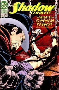 Cover Thumbnail for The Shadow Strikes! (DC, 1989 series) #23