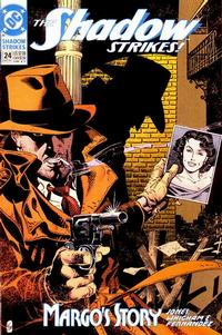Cover Thumbnail for The Shadow Strikes! (DC, 1989 series) #24