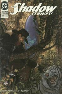 Cover Thumbnail for The Shadow Strikes! (DC, 1989 series) #26