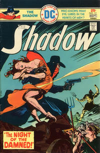 Cover for The Shadow (DC, 1973 series) #12