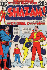 Cover Thumbnail for Shazam! (DC, 1973 series) #1
