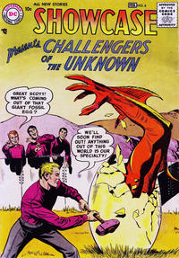Cover Thumbnail for Showcase (DC, 1956 series) #6