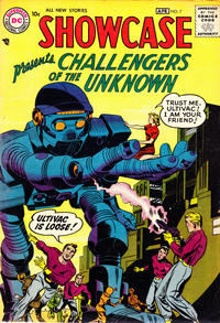 Cover Thumbnail for Showcase (DC, 1956 series) #7