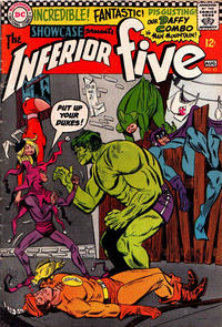 Cover for Showcase (DC, 1956 series) #63