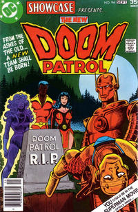Cover Thumbnail for Showcase (DC, 1956 series) #94