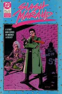 Cover Thumbnail for Slash Maraud (DC, 1987 series) #1
