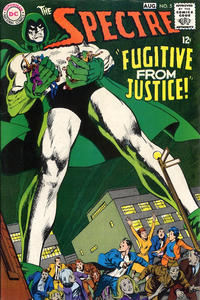 Cover for The Spectre (DC, 1967 series) #5