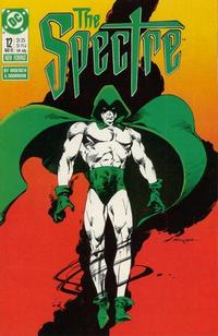 Cover Thumbnail for The Spectre (DC, 1987 series) #12
