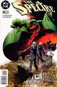Cover Thumbnail for The Spectre (DC, 1992 series) #54