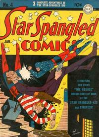 Cover Thumbnail for Star Spangled Comics (DC, 1941 series) #4