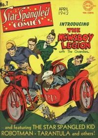 Cover Thumbnail for Star Spangled Comics (DC, 1941 series) #7