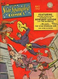 Cover Thumbnail for Star Spangled Comics (DC, 1941 series) #8