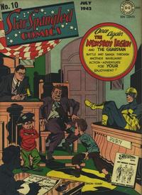 Cover Thumbnail for Star Spangled Comics (DC, 1941 series) #10