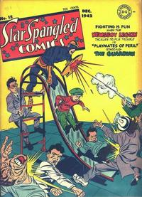 Cover Thumbnail for Star Spangled Comics (DC, 1941 series) #15