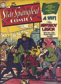 Cover Thumbnail for Star Spangled Comics (DC, 1941 series) #17
