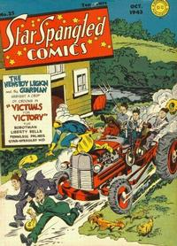 Cover Thumbnail for Star Spangled Comics (DC, 1941 series) #25