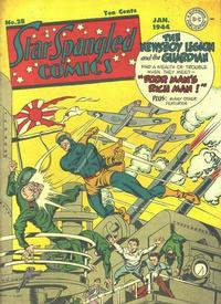 Cover Thumbnail for Star Spangled Comics (DC, 1941 series) #28