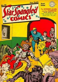 Cover Thumbnail for Star Spangled Comics (DC, 1941 series) #36