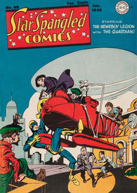 Cover Thumbnail for Star Spangled Comics (DC, 1941 series) #40