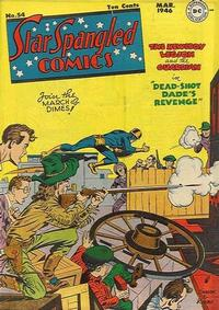 Cover Thumbnail for Star Spangled Comics (DC, 1941 series) #54