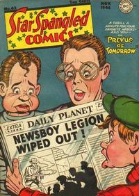 Cover Thumbnail for Star Spangled Comics (DC, 1941 series) #62