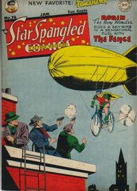 Cover Thumbnail for Star Spangled Comics (DC, 1941 series) #76