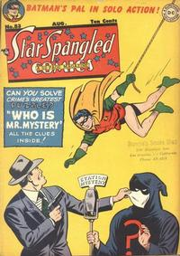 Cover Thumbnail for Star Spangled Comics (DC, 1941 series) #83