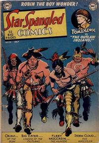 Cover Thumbnail for Star Spangled Comics (DC, 1941 series) #118