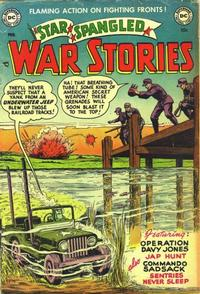 Cover Thumbnail for Star Spangled War Stories (DC, 1952 series) #6