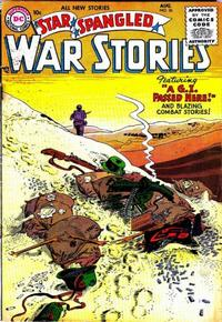 Cover Thumbnail for Star Spangled War Stories (DC, 1952 series) #36