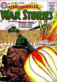 Cover Thumbnail for Star Spangled War Stories (DC, 1952 series) #40