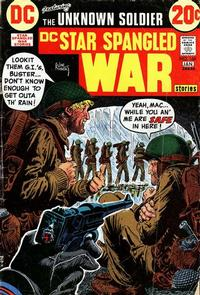 Cover Thumbnail for Star Spangled War Stories (DC, 1952 series) #166