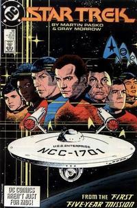 Cover Thumbnail for Star Trek (DC, 1984 series) #56 [Direct]