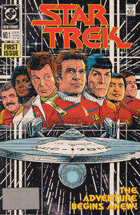 Cover Thumbnail for Star Trek (DC, 1989 series) #1 [Direct]