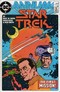 Cover Thumbnail for Star Trek Annual (DC, 1985 series) #1 [Direct]