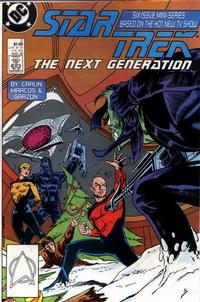 Cover Thumbnail for Star Trek: The Next Generation (DC, 1988 series) #2 [Direct]