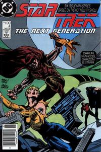 Cover Thumbnail for Star Trek: The Next Generation (DC, 1988 series) #4 [Newsstand]